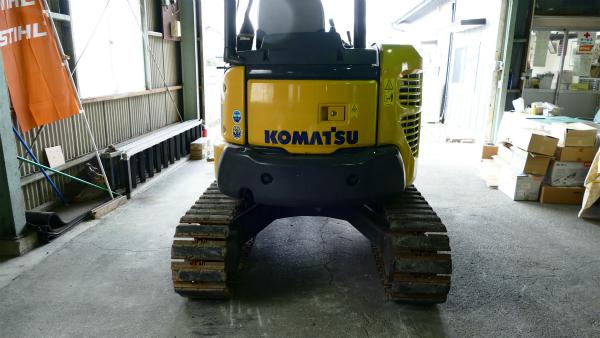 コマツミニショベル PC30MR-3