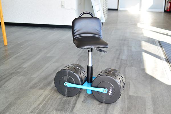 らくちん!草取り・農作業用・園芸用 移動椅子
