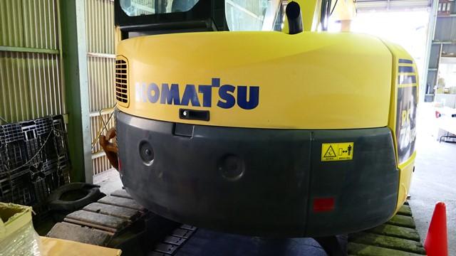 コマツPC78US-8